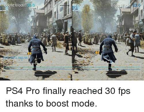 Ost Mode 300 Case MOG Ps Frame Rate PS4 Pro Finally Reached 30 Fps ...