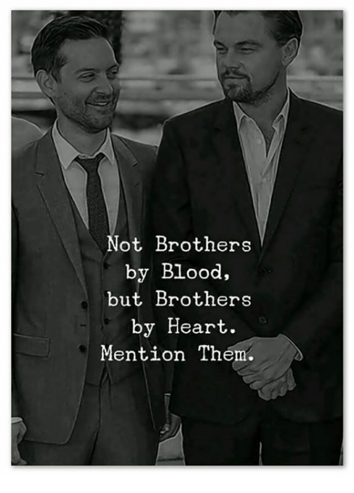 Memes, Heart, and 🤖: ot Brothers  by Blood,  but Brothers  by Heart.  Mention Th