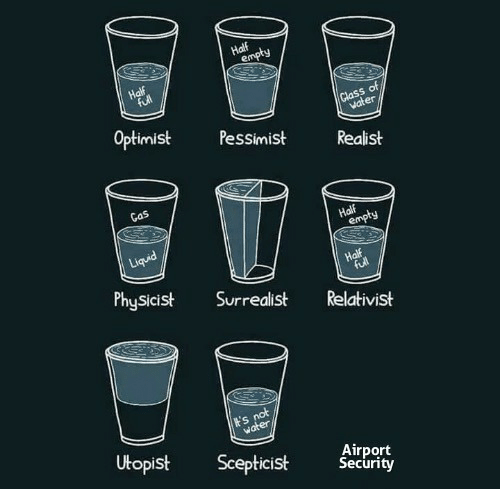 Security, Physicist, and Pessimist: ot  er  Optimist Pessimist Realist  Gas  PhySicist Surrealist Relativist  Airport  Security  Utopist Scepticist Secrity