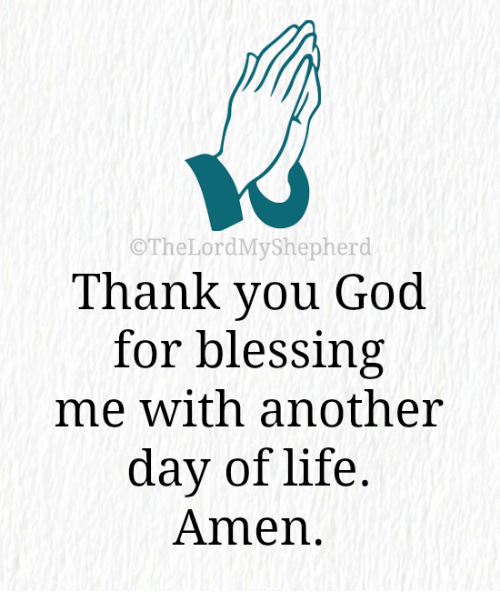 Othelordmyshepherd Thank You God For Blessing Me With Another Day Of