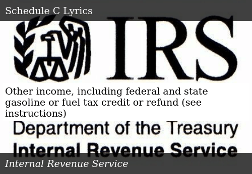Sizzle Other Income Including Federal And State Gasoline Or Fuel Tax Credit Refund