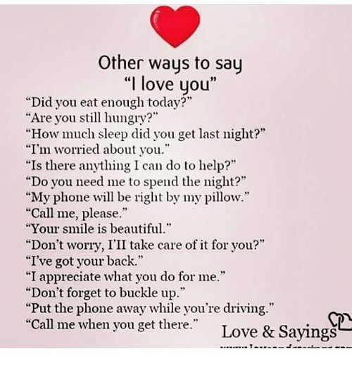 ways to say how much i love you