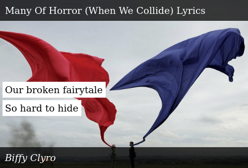 Hide in the fairytale lyrics