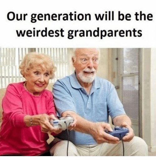 Memes, 🤖, and Generators: Our generation will be the  weirdest grandparents