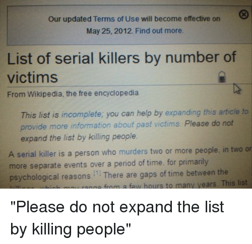 reasons for not killing other people Insights on why people 'snap' and kill story planning phase that other people don't particularly notice the fantasy of killing others may turn.