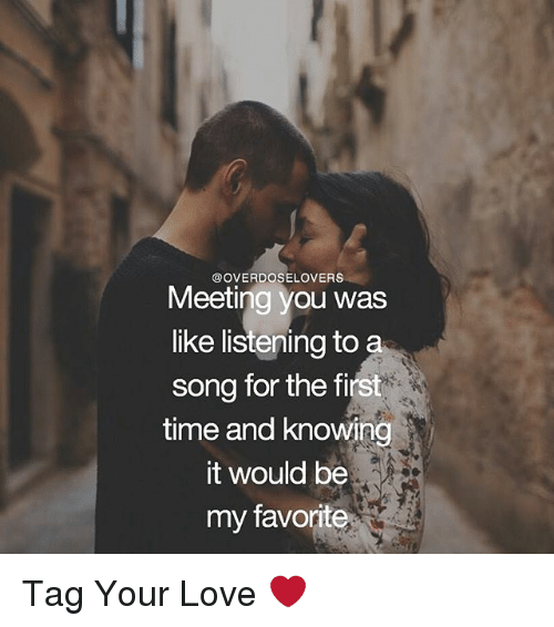 my love dating and meeting