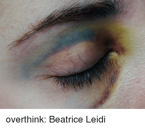 Tumblr, Blog, and Flickr: overthink:  Beatrice Leidi