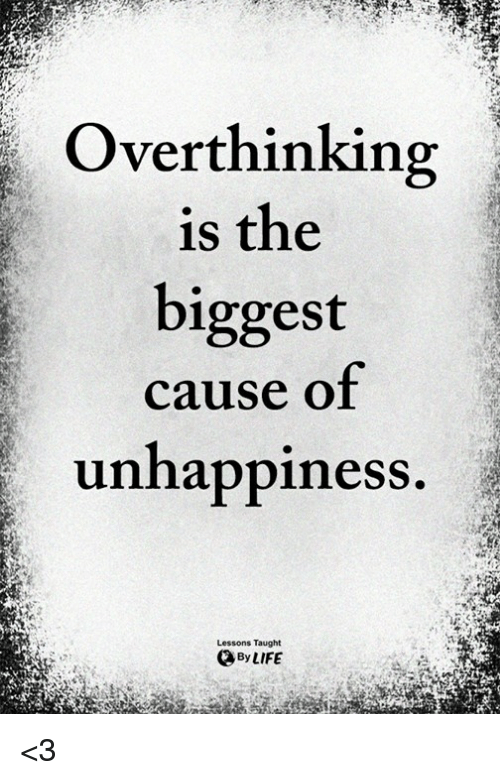 Unhappiness