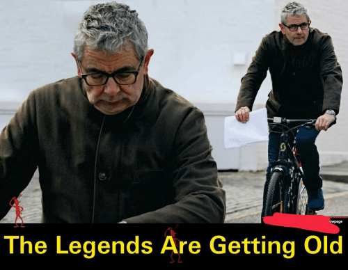 Old, Legends, and Getting Old: owpage  The Legends Āre Getting Old