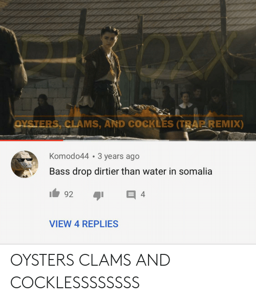 25 Best Memes About Oysters Clams And Cockles Oysters Clams