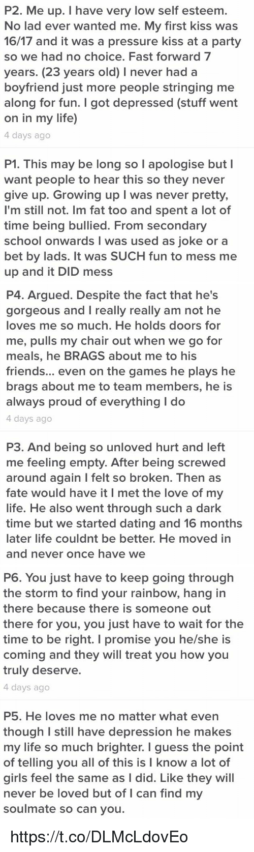 Started dating someone with depression