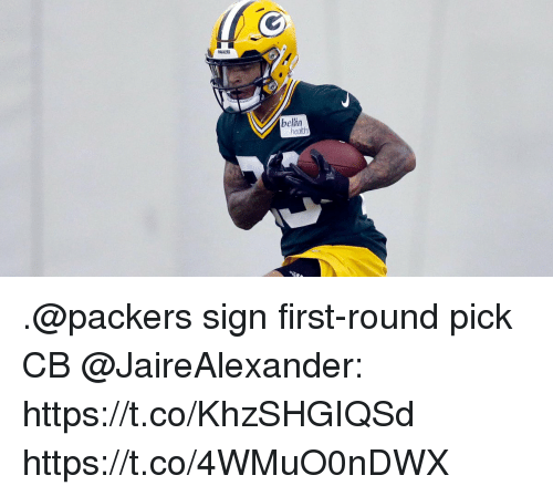 Memes, Packers, and 🤖: PACKERS  bellin .@packers sign first-round pick CB @JaireAlexander: https://t.co/KhzSHGIQSd https://t.co/4WMuO0nDWX