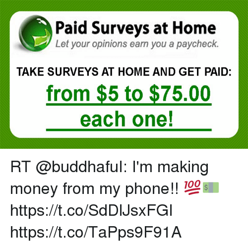 Paid Surveys at Home Let Your Opinions Earn You a Paycheck