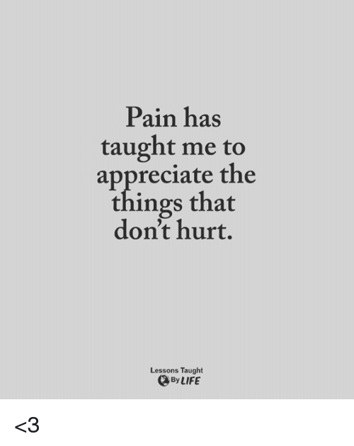 Hurt And Pain