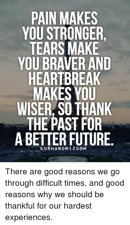 why heartbreak is good for you