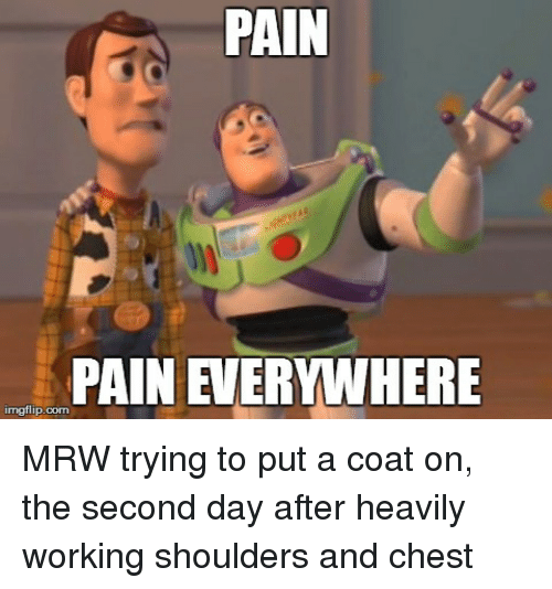 pain mgflip com mrw trying to put a coat on 2035046 pain mgflip com mrw trying to put a coat on the second day after
