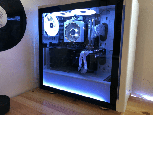 Painted My Wraith Prism The Gpu Is Still Under Warranty So Prism Meme On Me Me