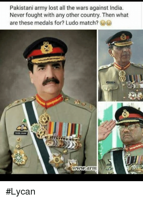 Pakistani Army Lost All The Wars Against India Never Fought With