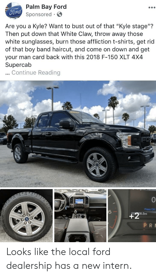 Palm Bay Ford >> Palm Bay Ford Forch Sponsored Are You A Kyle Want To Bust Out Of