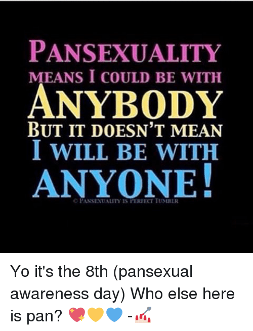 What Is Pan Sexuality