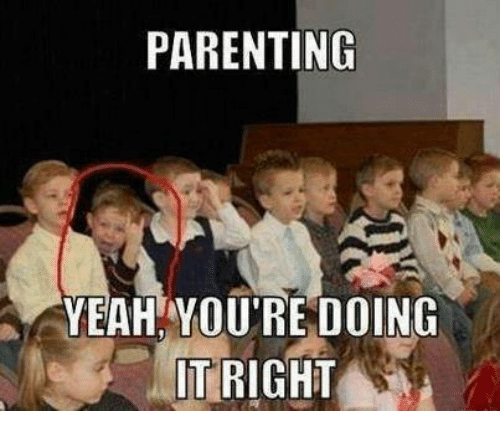 parenting yeah you re doing it right dank meme on me me