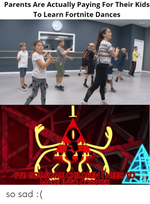 Parents Are Actually Paying For Their Kids To Learn Fortnite Dances