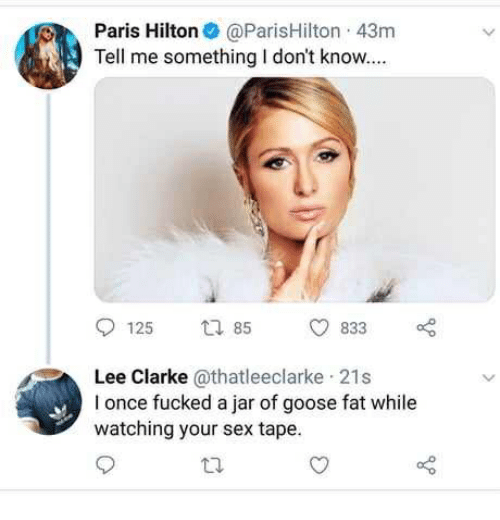 Opinion you Watch paris hilton sex tapes