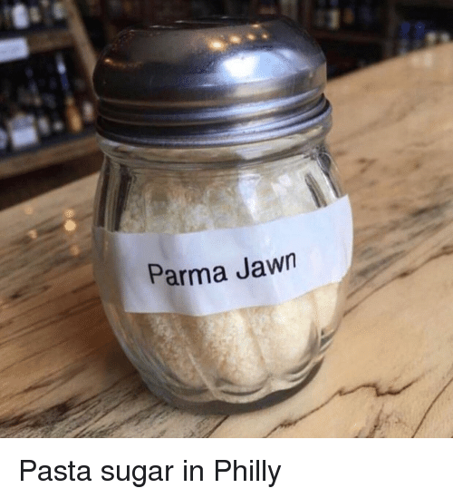 Sugar, Pasta, and Philly: Parma Jawn Pasta sugar in Philly