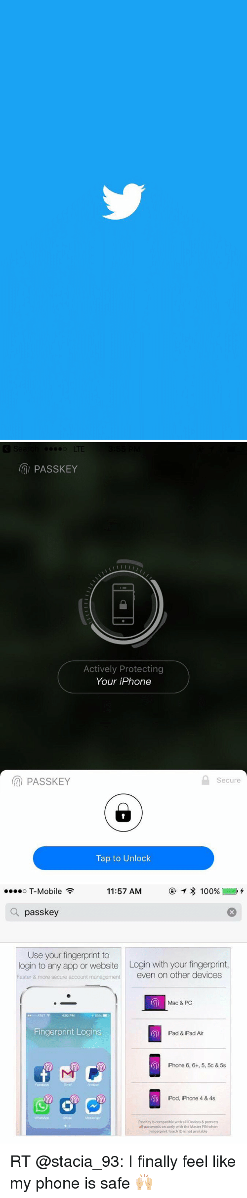 PAssKEY Actively Protecting Your iPhone Tap to Unlock Secure