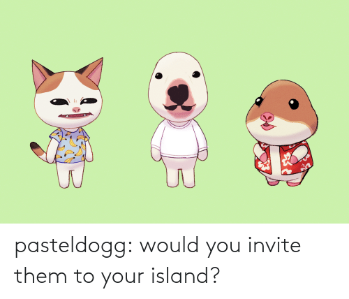 Target, Tumblr, and Blog: pasteldogg:  would you invite them to your island?