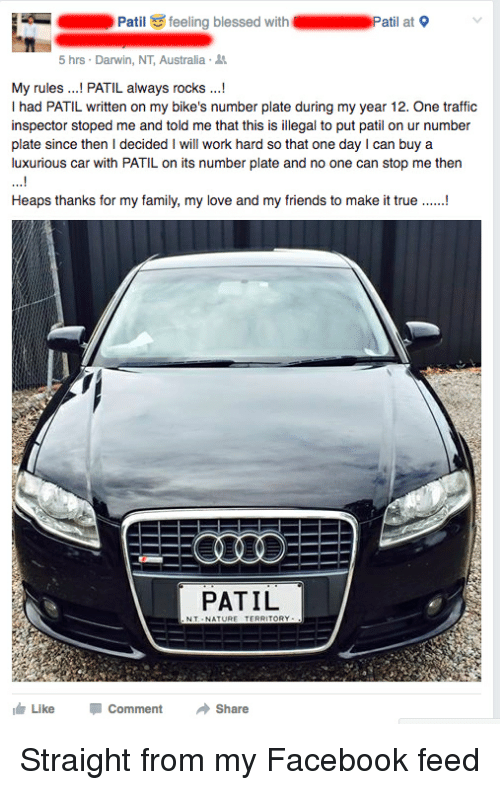Cars Traffic And Australia Patil Feeling Blessed With Pat At 9 5 Hrs