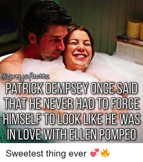 Patrick Dempsey Once Said Thathenever Had To Force Himself To Look