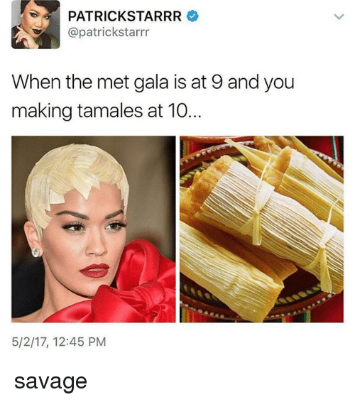 patrick starrr patrickstarrr when the met gala is at 9 20287132 ✅ 25 best memes about met gala met gala memes