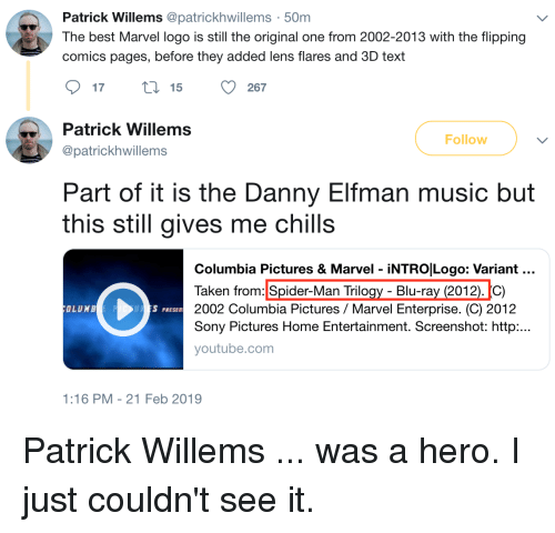 Patrick Willems 50m the Best Marvel Logo Is Still the