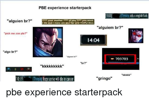 PBE Experience Starterpack 1055 Threshi Stu U English Fuck