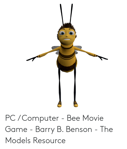 PC Computer - Bee Movie Game - Barry B Benson - The Models