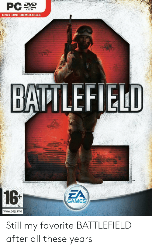 PC D ROM ONLY DVD COMPATIBLE BATTLEFIELD 161 EA GAMES Wwwpegiinfo