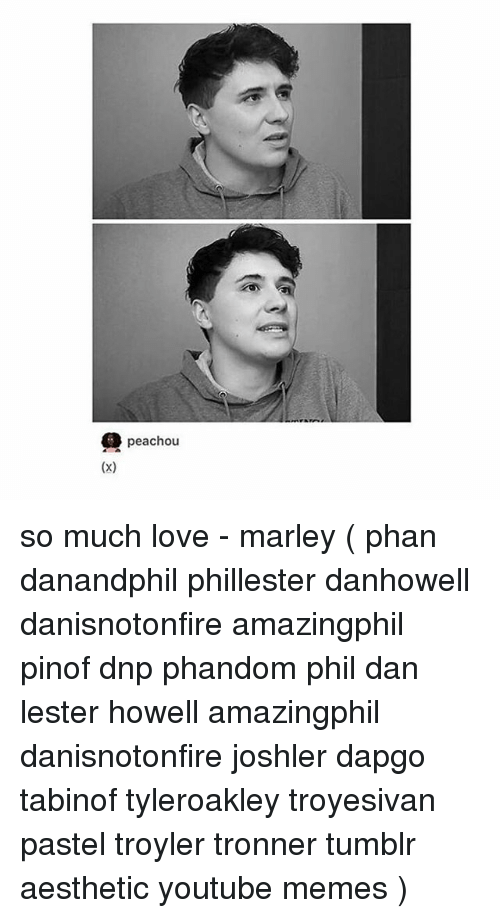 Peachou X So Much Love Marley Phan Danandphil Phillester Danhowell