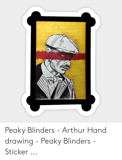 0f50fbcef Arthur, Peaky Blinders, and Drawing: Peaky Blinders - Arthur Hand drawing -  Peaky