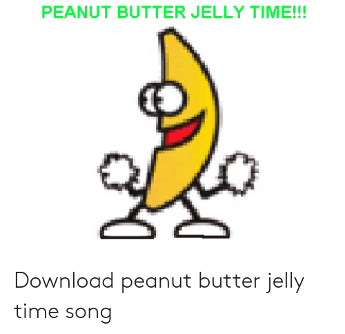 Dancing Banana  peanut butter jelly time car vinyl//decal//sticker