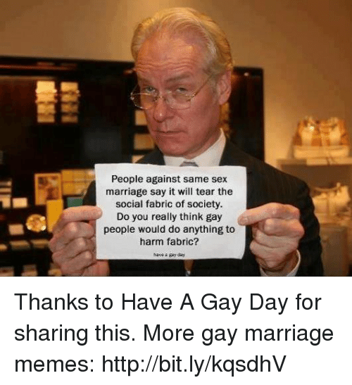 from Cason against and gay marriage