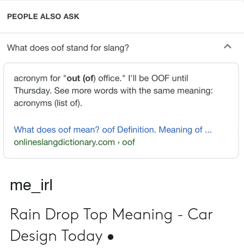 Oof Meaning Meme