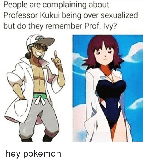 Most sexualized pokemon