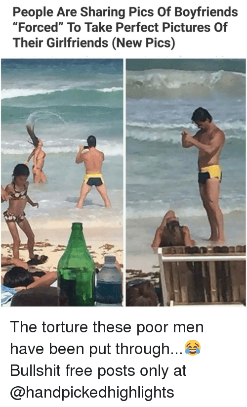 """Memes, Free, and Pictures: People Are Sharing Pics Of Boyfriends  """"Forced"""" To Take Perfect Pictures Of  Their Girlfriends (New Pics) The torture these poor men have been put through...😂 Bullshit free posts only at @handpickedhighlights"""