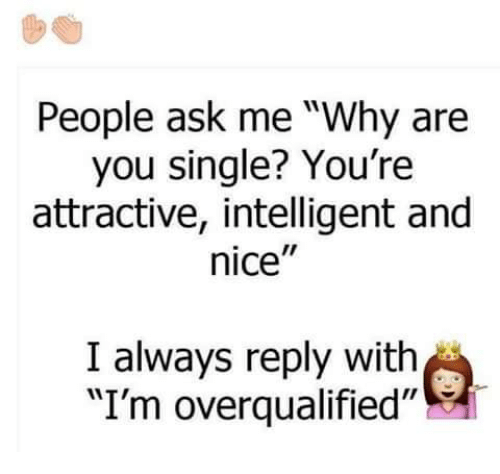 Why are people single