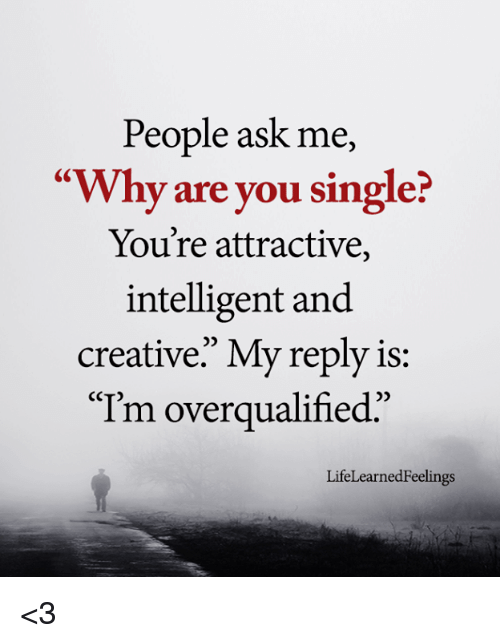 Why are attractive people single