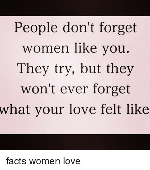forget your love