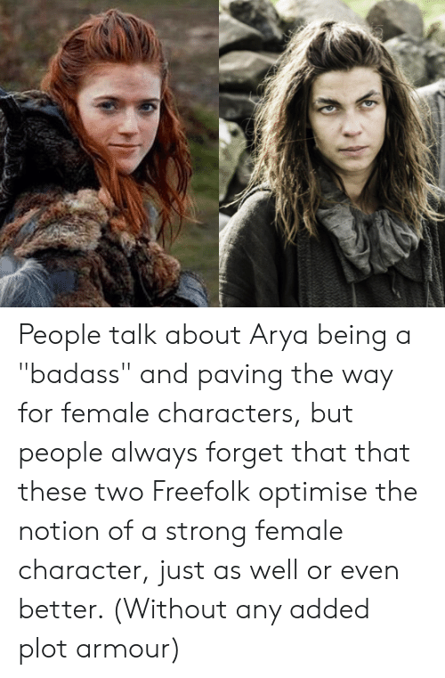 People Talk About Arya Being a Badass and Paving the Way for