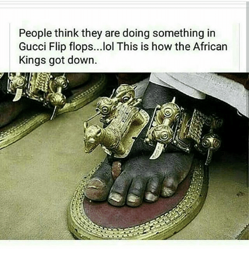 9cc908073164a People Think They Are Doing Something in Gucci Flip Flops Lol This ...