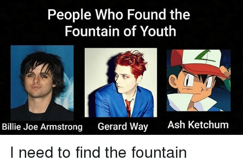people who found the fountain of youth billie joe armstrong 21126850 people who found the fountain of youth billie joe armstrong gerard